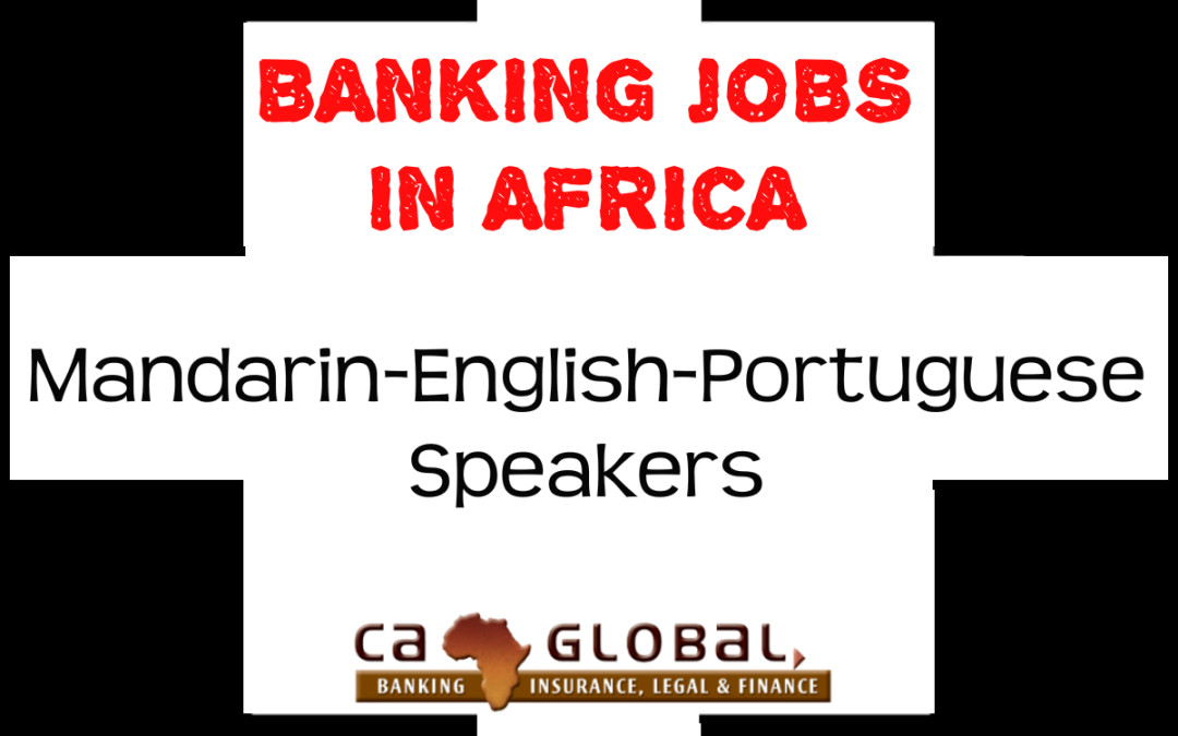 Banking Jobs in Africa | China-Africa Critical Skills