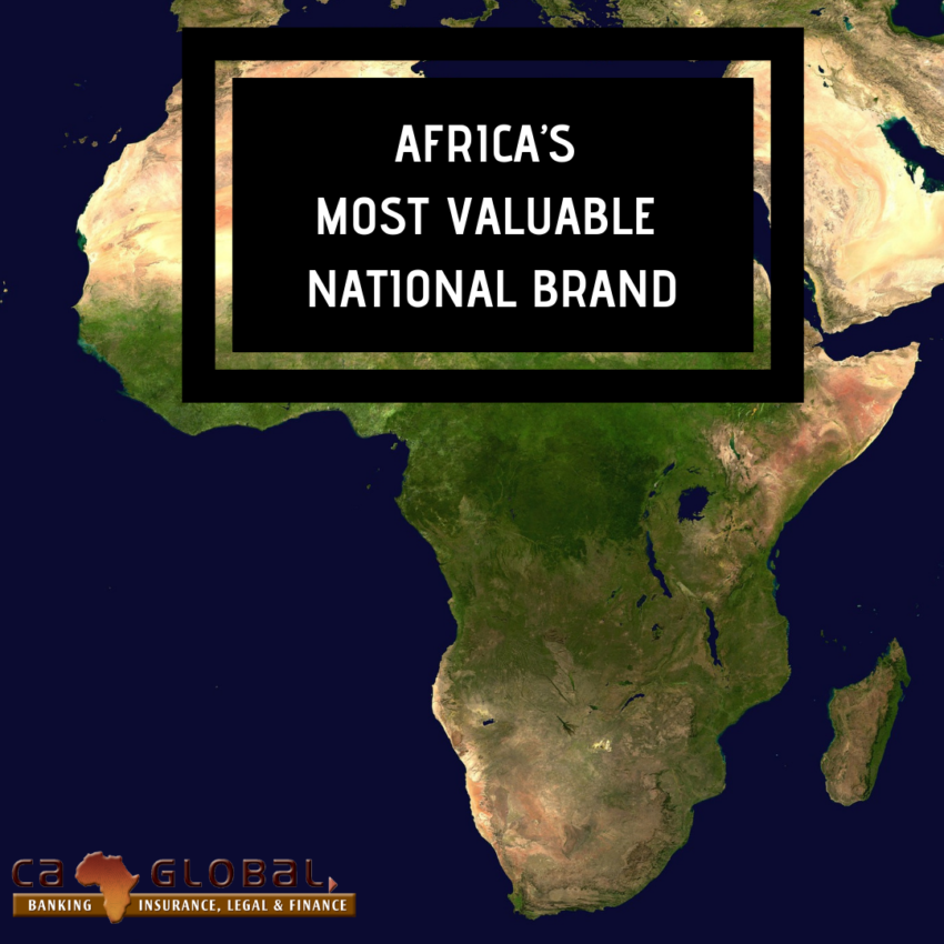 Africa's most valuable national brand